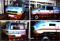Airbrush ICE-Bus