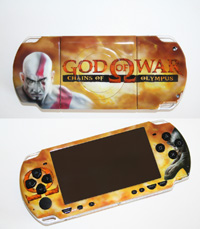Airbrush Design God of War auf Sony Playstation Portable_PSP