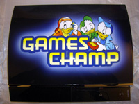 Airbrush Design Games Champ auf Sony Playstation Three_PS3