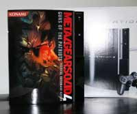 Airbrush Design Metal Gear Solid auf Sony Playstation Three_PS3
