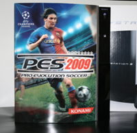 Airbrush Design PES 2009 auf Sony Playstation Three_PS3