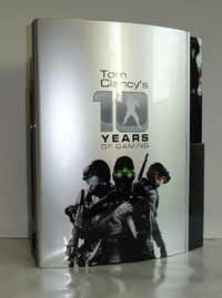 Airbrush Design 10 Jahre Tom Clancy´s auf Sony Playstation Three_PS3