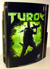 Airbrush Design Turok auf Sony Playstation Three_PS3