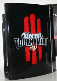 Airbrush Design Unreal Tournament auf Sony Playstation Three_PS3