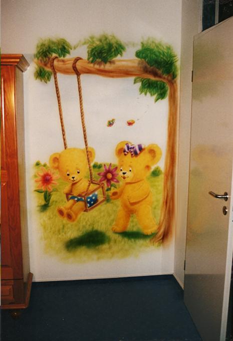 Wandbemalung kinderzimmer inneneinrichtung und m bel - Wandbemalung kinderzimmer ...