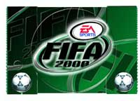 Airbrush Design FIFA 2000 auf Sony Playstation_PSX