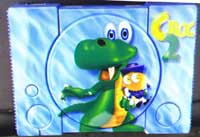 Airbrush Design Croc 2 auf Sony Playstation_PSX