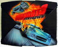 Airbrush Design Burnout 3 Takedown auf XBox