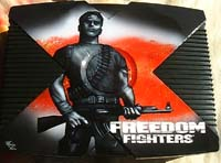 Airbrush Design Freedom Fighters auf XBox