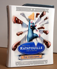 Airbrush Design Ratatouille auf XBox 360