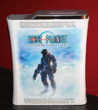 Airbrush Design Lost Planet auf XBox360