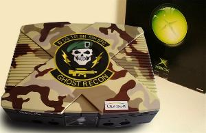 Airbrush Design Ghost Recon auf XBox